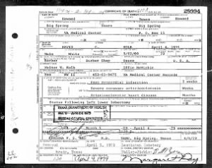 Texas, Death Certificates, 1903–1982 - David Crockett Kolb.jpg