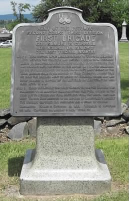 Monument to the First Brigade, Third Division, Second Army Corps at Gettysburg.png
