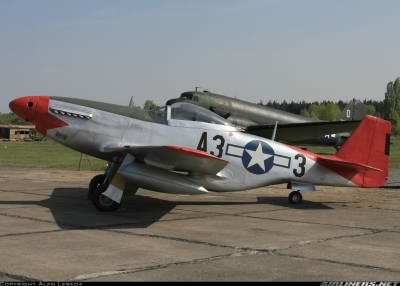 North American P-51D Mustang (Red Tail).jpg - Fold3.com