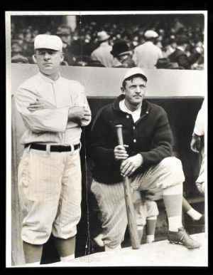 1927 John McGraw and Christy Mathewson.jpeg