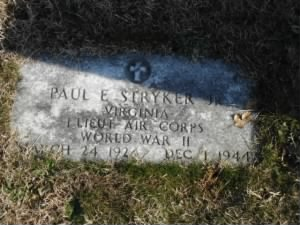 Paul Edward Stryker, Jr Headstone.jpg