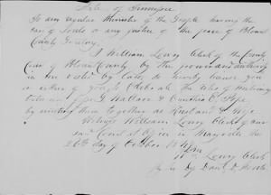 Jesse G Wallace 1847 to Cynthia Pope Marriage License.jpg