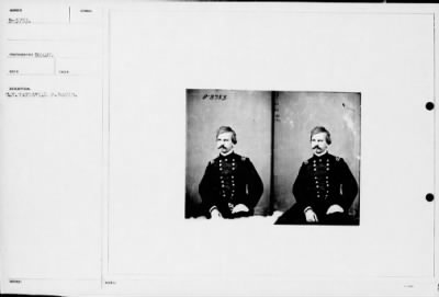Mathew B Brady Collection of Civil War Photographs › B-3753 Gen, Nathaniel P. Banks. - Fold3.com