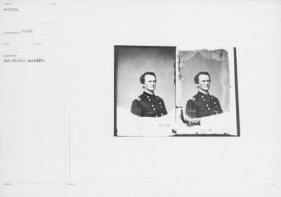 Mathew B Brady Collection of Civil War Photographs › B-3339 Gen. Wesley Merritt. - Fold3.com