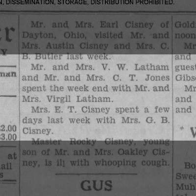 1952 Jan-V.W.Latham/Jones spend week w/ MMVirgil Latham