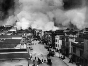San Franciso Earthquake Destruction - 18 Apr 1906
