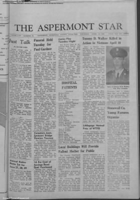 1968-Apr-18 The Aspermont Star, Page 1