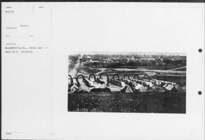 Mathew B Brady Collection of Civil War Photographs › B-193 Alexandria, VA., From Camp of 44th N.Y. - Fold3.com