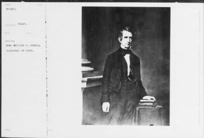 Mathew B Brady Collection of Civil War Photographs › B-1307 Hon. William H. Seward, Secretary of State - Fold3.com