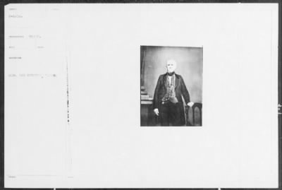 Mathew B Brady Collection of Civil War Photographs › B-1456 Hon [Illegible]. - Fold3.com