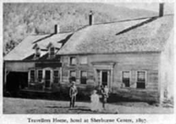 Travellers House Hotel in Sherburne Center Vermont 1897.jpg