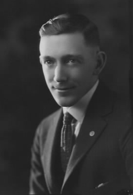 Arlan Dwight Soapes, about 1920